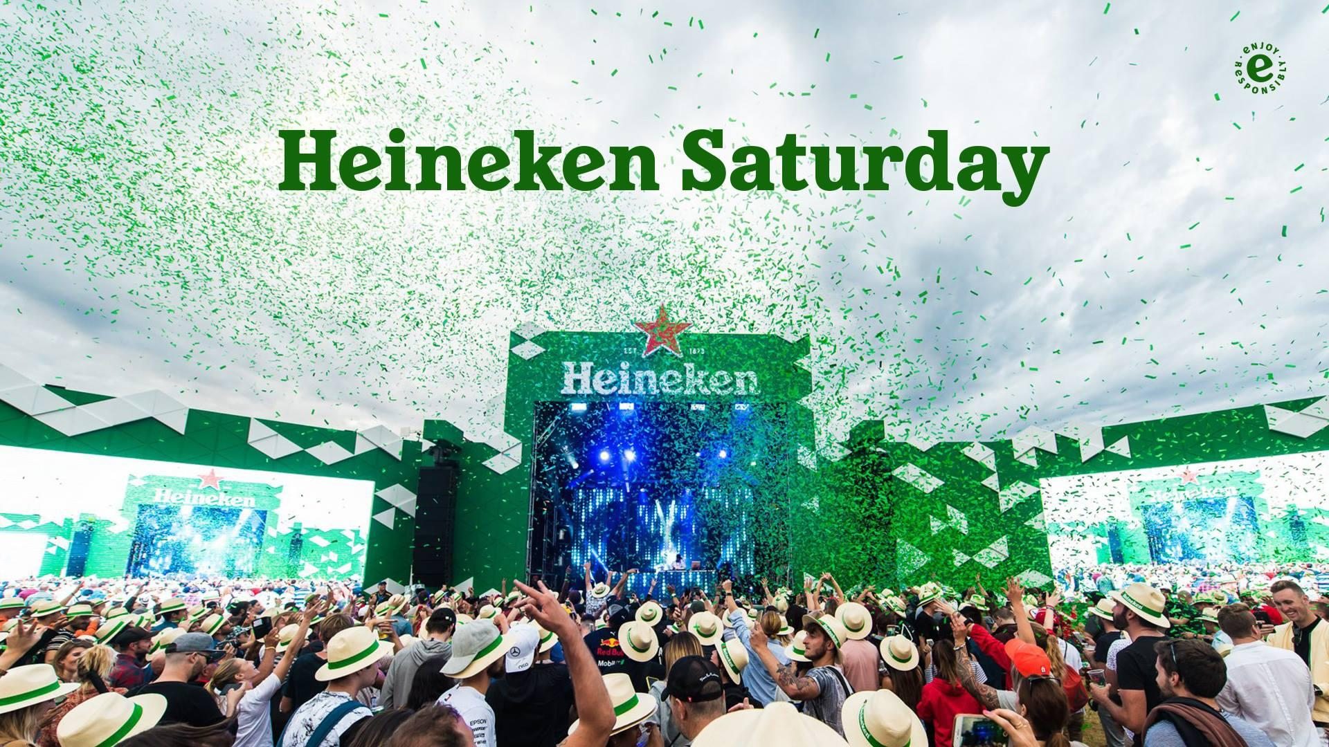 Patron Membership [$88] Incl  a Formula 1® 2019 Rolex Australian Grand Prix  GA 2 Day [SAT&SUN] Pass, thanks to HEINEKEN SATURDAY [16 + 17 March 2019,