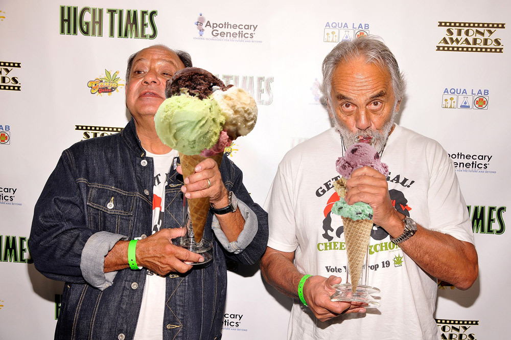 Share a Cone with Cheech & Chong