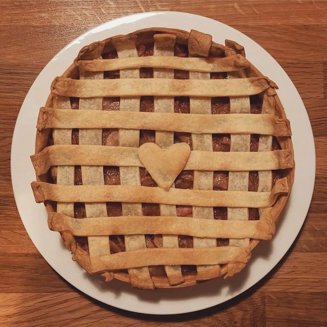 Apple Pie - From Facebook - Mariska Harayim