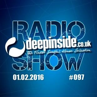 DEEPINSIDE RADIO SHOW 097 - February 01 - 2016 Cover