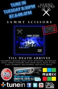 Sammy Scissors Live on StrictlyOZ