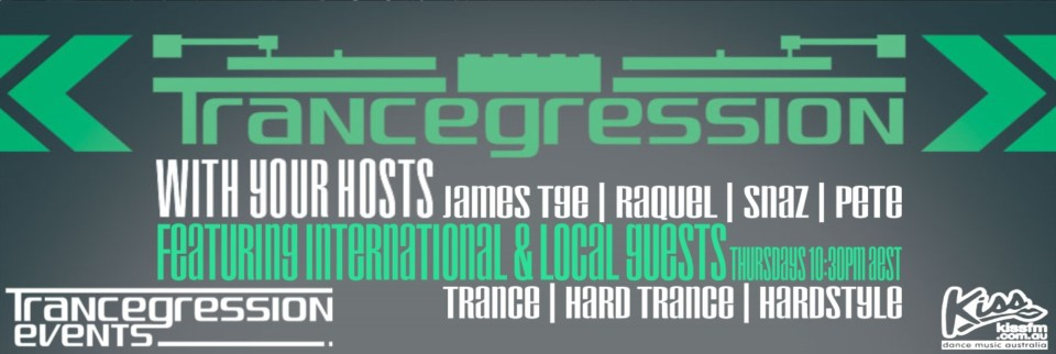 Trancegression show on Kiss FM