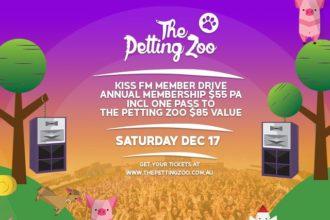 the petting zoo festival member drive
