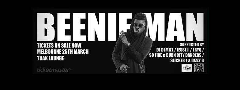beenie man melb incentive