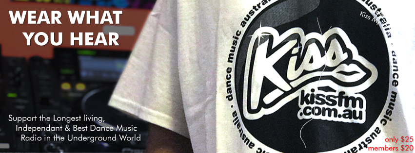 Kiss FM T-shirts, keep the vibe alive