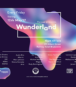 Wunderland show - $10 entry with KISS keyring [Members only]