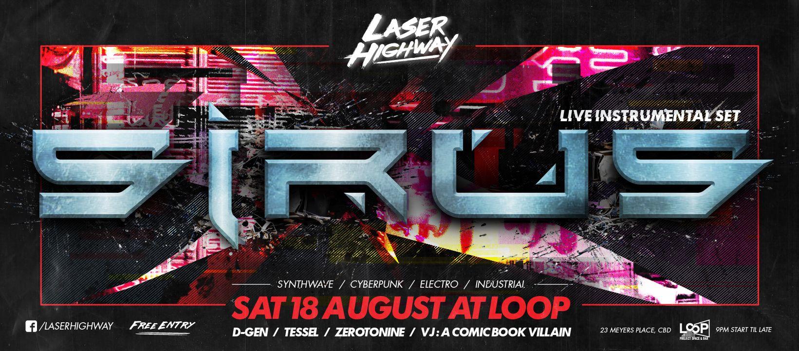 Laser Highway • Kiss FM