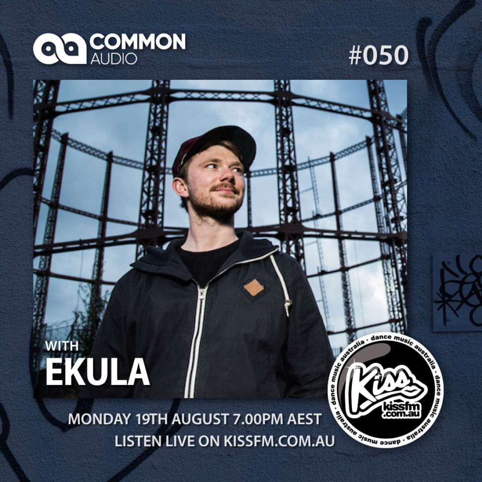 Ekula guest mix on the Common Audio Show