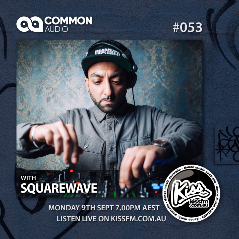 DJ Squarewave guest mix on the Common Audio Show