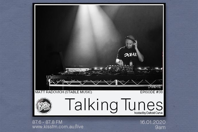 Talking Tunes ep.038 | 16.01 | Matt Radovich