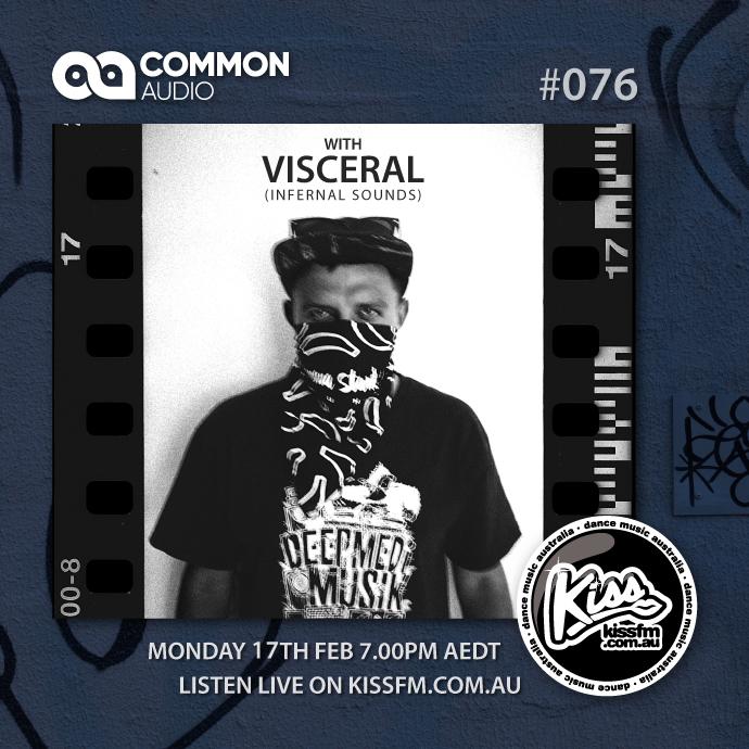VISCERAL (INFERNAL SOUNDS, UK) | GUEST MIX | COMMON AUDIO | MON 7PM