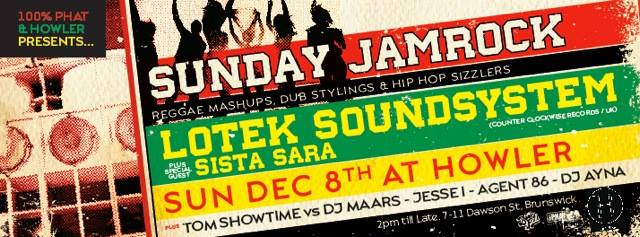 SUNDAY JAMROCK | SUN 8th DEC 2013 | HOWLER • Kiss FM